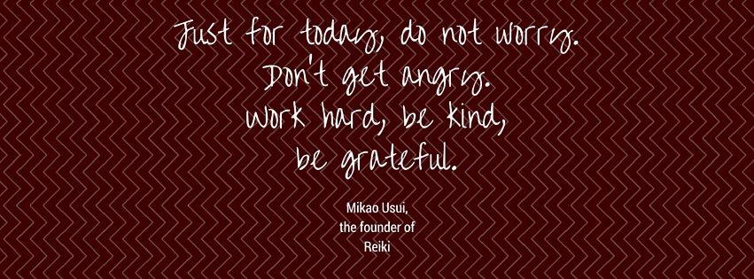 Reiki principles