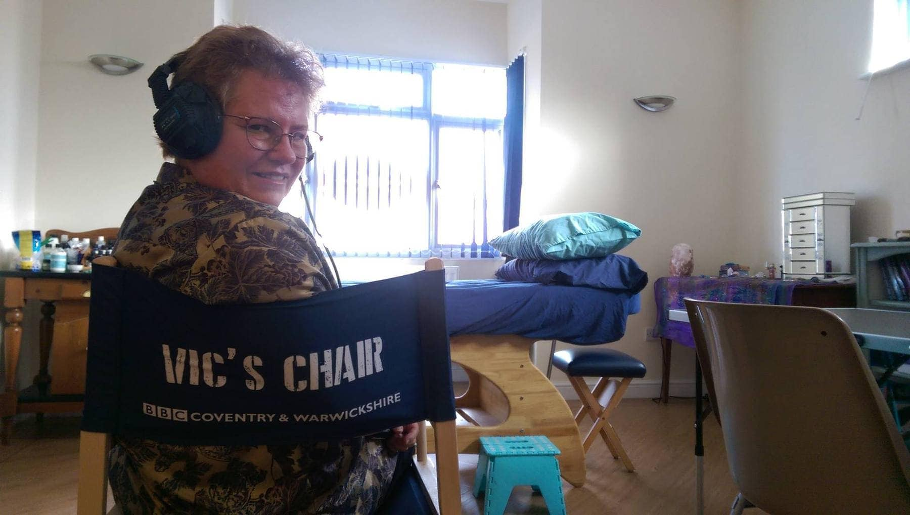 Me in Vic's Chair